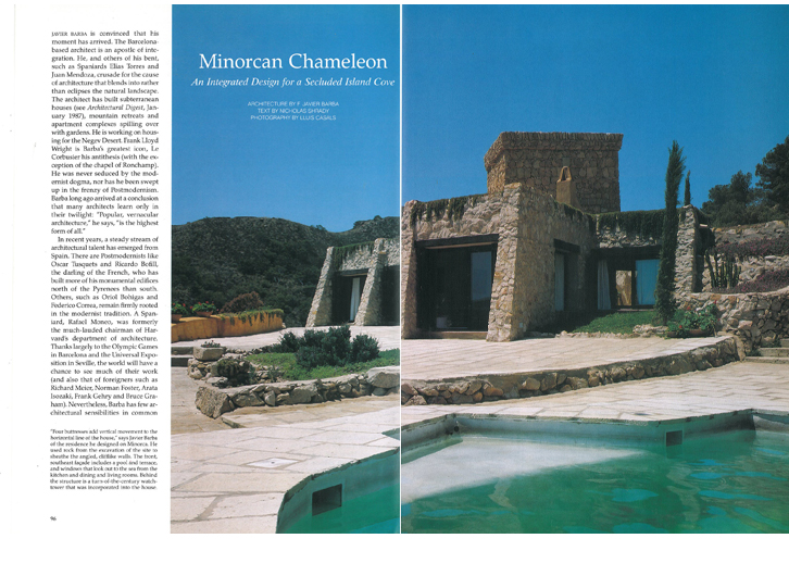 ARCHITECTURAL DIGEST - SPAIN