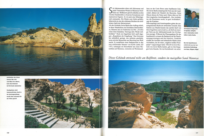 ARCHITECTURAL DIGEST - MENORCA